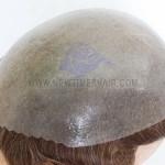 HS1-V Haarersatz Haarsystem mit V-Schlaufe gestochenem Haar