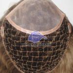 HS18: Haarintegration Haarsystem mit Netz aus Polyester und feinem Mono am Vorderkopf