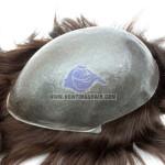 HS1: Männertoupet mit Kappe aus super dünner Haut