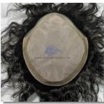 HS5: Haarersatz Haarsystem mit Seidenmono und Hautrand