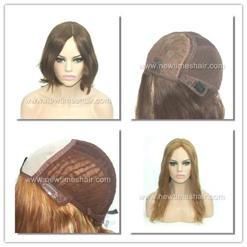 Jüdische Perücke mit mongolischem Haar