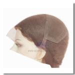LW1: Frauenperücke mit dehnbarem Netz am Scheitel