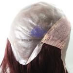 NTW4 Frauenperücke mit Kappe aus Polyurethane Haut und Netz mit hohem Stretch Anteil hinter dem Scheitel