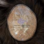 SI-I: Haarsystem mit Silikonhaut und eingestochenem Haar