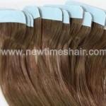 Echthaar Haarverlängerung mit doppelseitigem Klebeband